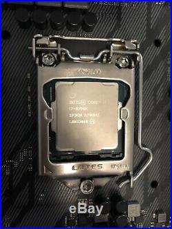 Combo Intel I7 8700k + ROG STRIX Z370-F Gaming Motherboard