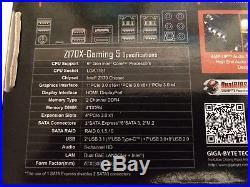 Combo Intel i5-6600K CPU & Gigabyte GA-Z170X-Gaming 5 LGA 1151 ATX Motherboard