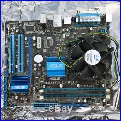 Computer Hardware Motherboard Combo Motherboard, RAM, CPU, Fan