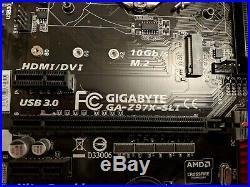 Core i7-4790 & Gigabyte GA-Z97X-SLI ATX LGA1150 Motherboard COMBINATION DEAL