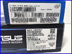 Delidded I7-7700K 4.2GHz Quad Core + ASUS z270 Prime-A Motherboard