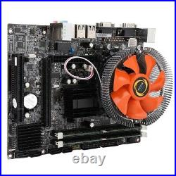 Desktop Motherboard 6 Channel Quad Core CPU PCI-E SATA2.0 DDR3 For Intel G41 L2S