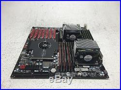 EVGA Classified SR-2 DUAL LGA 1366 Intel 5520 HPTX Motherboard, 2x Xeon CPU 24GB