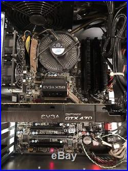 EVGA X58 Intel i7 GTX470 CoolerMaster850W Bundle for PC LOT of Great Components