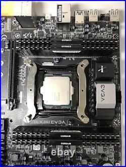 EVGA X99 Micro MATX Motherboard LGA2011-3 + i7-5960X CPU + DDR4 32GB RAM Combo