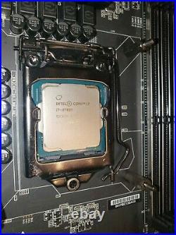EVGA Z370 FTW, LGA 1151, Intel Z370 combo with I7 8700k