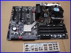 Evga X58 SLI, (132-BL-E758-A1) Motherboard With i7 2.8ghz CPU/fan, io plate