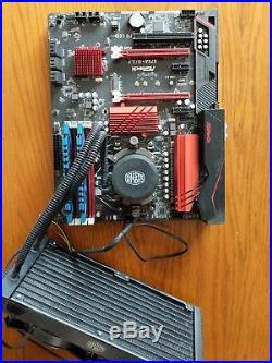 FX 9590 + ASRock 970A-G/3.1 + 16G RAM + Water Cooler