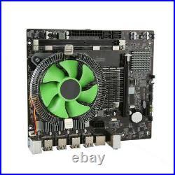 For Intel X58 Motherboard Combo, 2.66GHz 6-Core X5650 CPU, 8GB RAM, LGA 1366+Fan