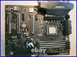 GA-Z270X-Gaming K5 motherboard with intel i7-7700K Kaby Lake Quad-Core 4.2 GHz