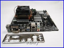 GIGABYTE GA-78LMT-USB3 motherboard, 4.0GHz AMD FX-8350 8-Core CPU, 8GB RAM