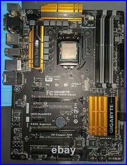 GIGABYTE GA-Z97X-UD3H + Intel i5-4690K 3.9Ghz Motherboard + CPU (MOBO/CPU) combo