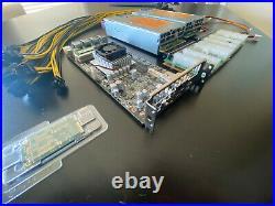 GPU Mining Starter Kit REBTECH All-in One Motherboard 8 GPU Mining Rig