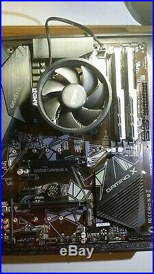 Gaming Combo Ryzen 5 3600 Cpu Gigabyte B550 Gaming X 16gb Rgb Ram