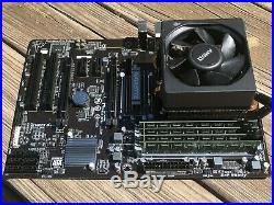 Gigabyte 970A-DS3P AMD Mobo / FX-8350 CPU Combo Kit with 16 GB Kingston value RAM