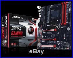 Gigabyte-990FX-Gaming + AMD FX 8350 + RAM