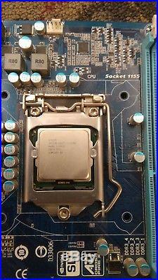 Gigabyte ATX Motherboard GA-Z68A-D3H-B3 Intel I7 CPU 2600k Combo DDR3 SLI