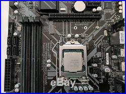 Gigabyte B365M DS3H withCore i7-8700 1151 Micro ATX motherboard CPU combo
