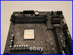 Gigabyte B550M DS3H with Ryzen 7 3700X AM4 AMD micro ATX motherboard CPU combo