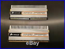 Gigabyte GA-EP45-UD3P motherboard with Intel Q6600 CPU, 8 GB RAM, free PSU