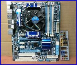 Gigabyte GA-P55A-UD4P LGA1156 Motherboard+ Intel core i7 2.80GHZ CPU