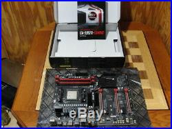 Gigabyte GA990FX-Gaming Motherboard with AMD FX-8320E CPU Warranty AM3+ combo