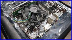 Gigabyte GAH81M-DS2V Motherboard + Intel Corei5-4460 3.20GHz CPU +4GB Ram Bundle