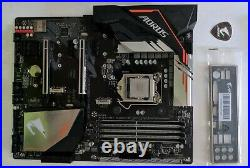Gigabyte H370M Aorus Gaming 3 Wifi withCore i7-9700 ATX motherboard CPU combo