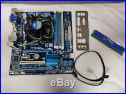 Gigabyte H77M-D3H Motherboard, Intel Core i3 3220, 4GB HyperX, 128GB SSD Bundle