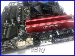 Gigabyte H85M-D3H Motherboard, Intel Core i3 4130, 8GB Kingston HyperX Bundle