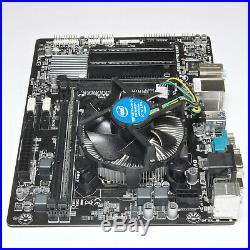 Gigabyte MicroATX Motherboard + Intel i5-4460 CPU + 8GB RAM Combo