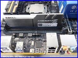 Gigabyte X99P-SLI X99 Motherboard 2011-3 + Intel i7 6850k CPU, 16GB DDR4 RGB RAM