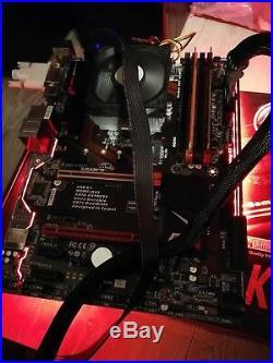 Gigabyte Z170-gaming k3 Motherboard socket 115, DDR4, Intel i5-6400 CPU Bundle