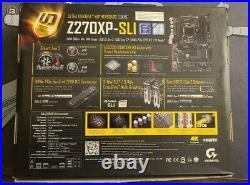 Gigabyte Z270XP-SLI motherboard, Intel i5 6500 CPU combo, With I/O shield