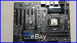 Gigabyte Z87-D3HP 1150 MOTHERBOARD BUNDLE i5-4670 CPU @ 3.40GHz + 16 Gig Memory