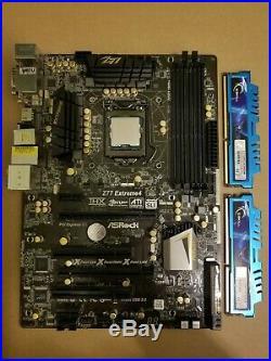 I5 3570k CPU+MB+RAM combo asrock Z77 extreme 4 corsair 8gb ram