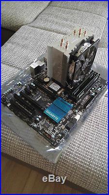 I5-3570k + Z77X-D3H + 2x8GB Crucial Ballistix Sport +SSD +Kühler Bundle