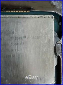 I5 3570k z77 extreme 4 motherboard, 8gb ddr3 1333, rx470 4gb! Read Description
