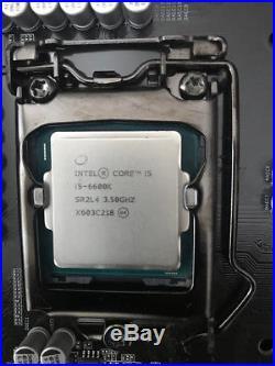 I5 6600k + Gigabyte Z170XP-SLI LGA1151 socket DDR4 motherboard