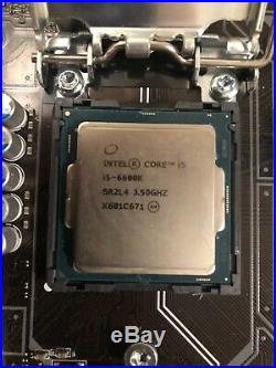 I5 6600k cpu and MSI Z270-A Pro Motherboard Combo