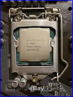 I5-7600k CPU, GIGABYTE GA-Z270P-D3 Motherboard, Hyper 212 CPU Fan NO RESERVE