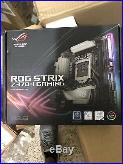 I5 8600k Asus Rog Strix Z370-I DDR4 LGA 1151 Mini ITX Gaming Motherboard combo
