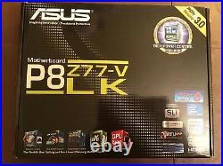 I7 3770K CPU ASUS P8 Z77-V LK Motherboard 16GB Ram Hyper 212 Cooler Combo