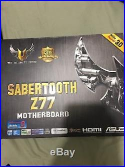 I7 3770k Motherboard Memory Cpu Cooler Solid State Drive Combo
