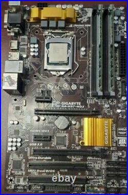 I7-4790 withGigabyte H97 Motherboard & 16GB RAM combo