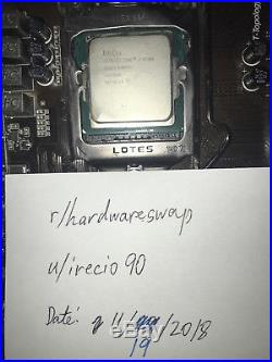 I7-4790k CPU / MSI Z87-G45 Gaming Motherboard / Corsair Vengeance 2x8gb DDr3 Ram