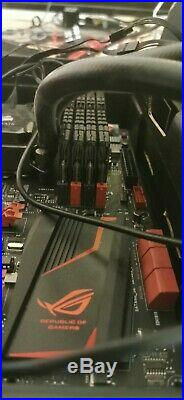 I7-4790k, Maximus VII Ranger, 32Gb HYPER-X BEAST, Corsair H100i Hydro