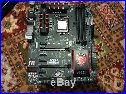 I7 4790k Processor and msi z97 gaming 5 Motherboard bundle