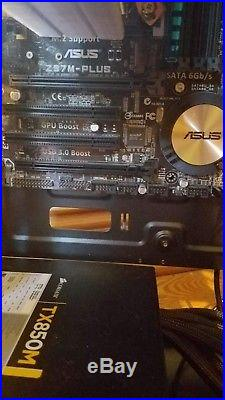 I7-4790k combo with 16GB DDR3, Hyper 212 and Asus Z97M-Plus READ DESCRIPTION