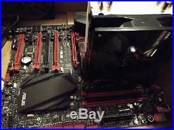I7 5820k 6 core & Asus rog rampage V extreme motherboard, with cpu cooler bundle